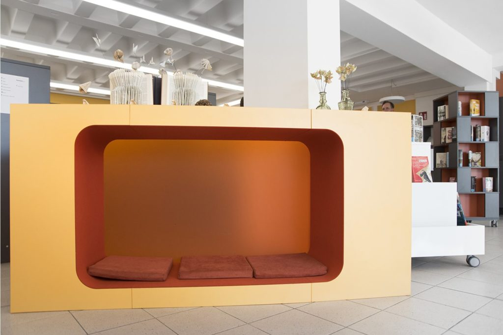 BCI Cocoon & Shelving