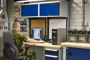Rousseau Workbench on Military Base