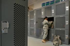 Spacesaver Military Lockers