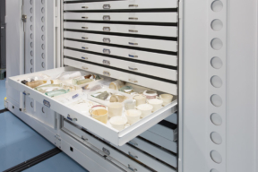 Spacesaver Cabinets for Museum Storage