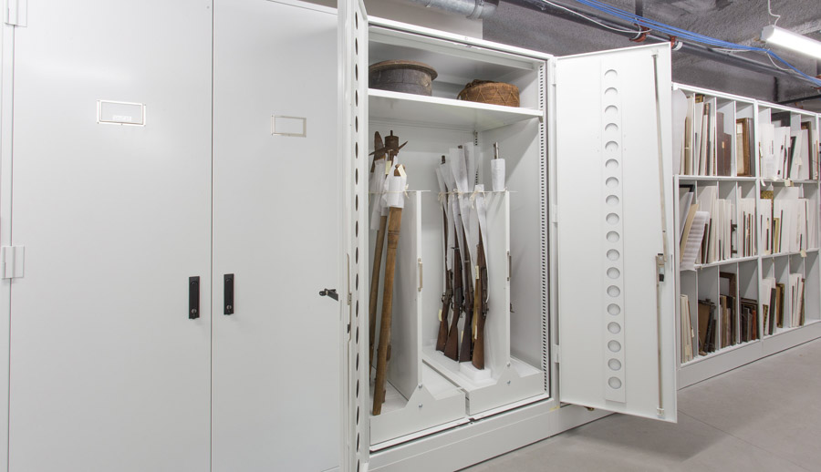 Spacesaver Cabinet for Museum Storage