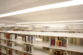 Spacesaver Shelving at The Daniel Morgan Graduate School of National Security