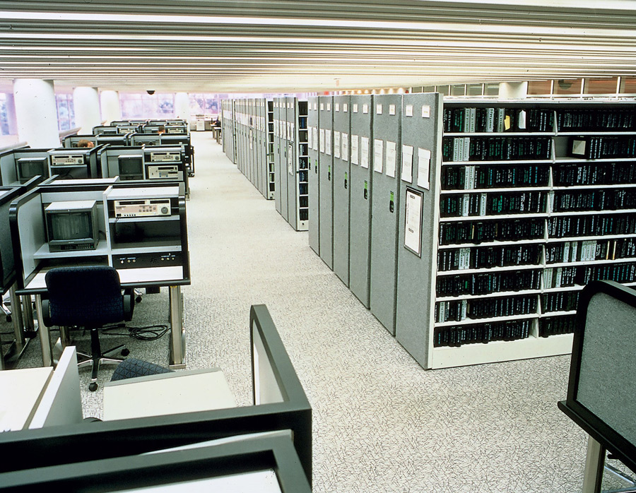 Spacesaver Shelving at National Archives II