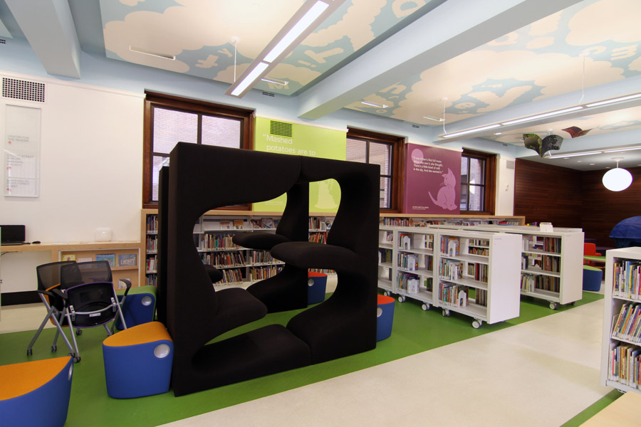 Spacesaver Library Cart