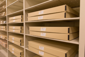 Spacesaver Shelving at The National Library for the Study of George Washington