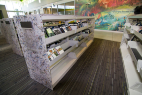 Anacostia Public Library Alternative Finishes - Library Shelving