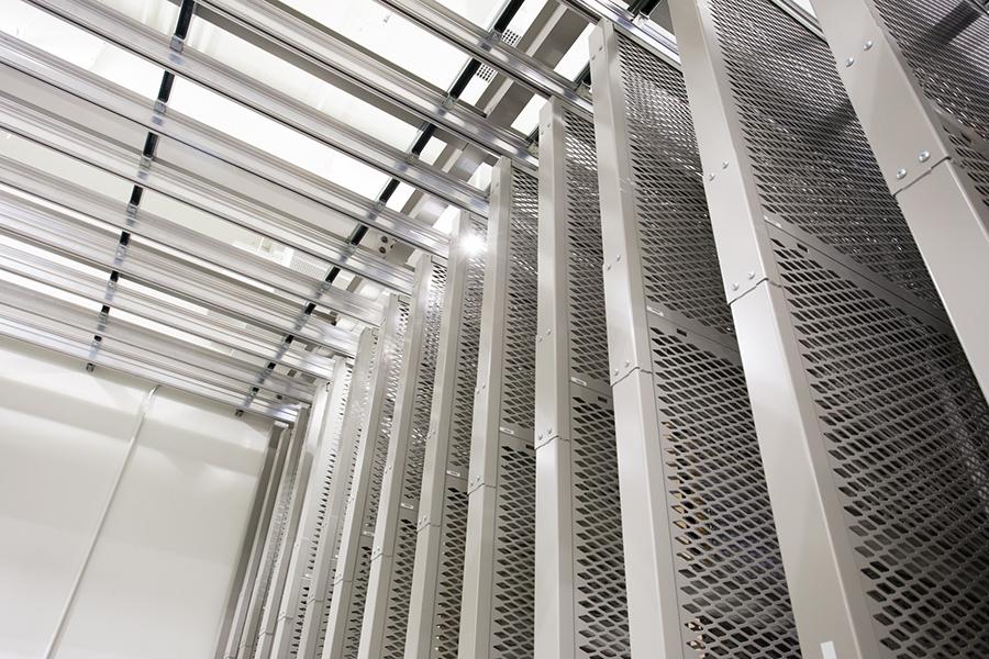 Spacesaver Art Rack at Holocaust Memorial Museum