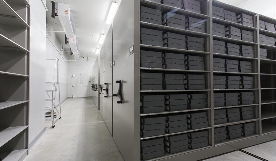 Spacesaver Mobile Shelving at Holocaust Memorial Museum