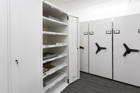 Spacesaver Museum Pull-Out - High Density Shelving