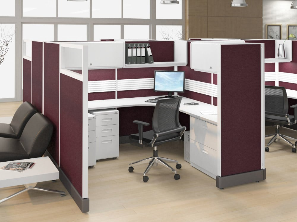 Workstation in Cubicle