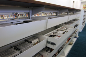 Spacesaver Library Pull-Out Shelving