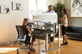 Workrite Ergonomics height adjustable desks