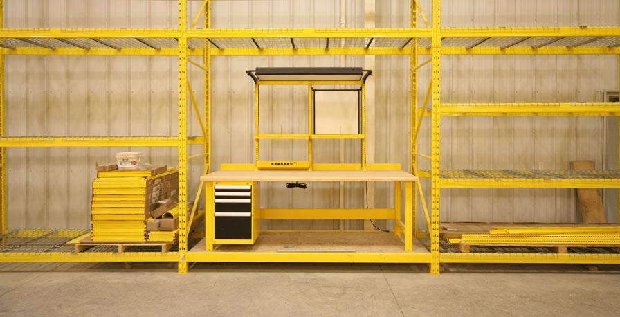 Rousseau Industrial Workbench