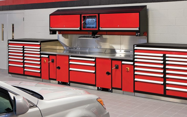 Automotive Storage Drawers And Shelving Spacesaver Interiors