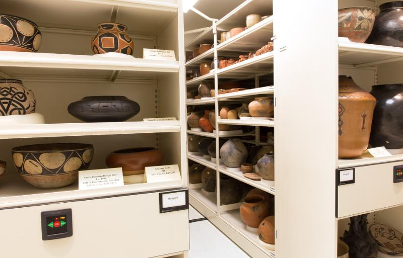 Spacesaver Museum Artifact Storage