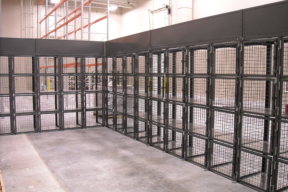 WireCrafters Industrial Wire Cage
