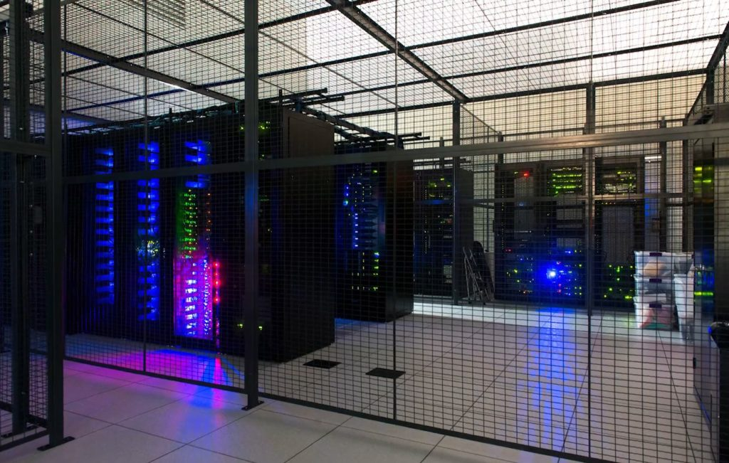 WireCrafters Data Center Cage