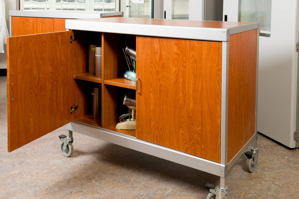 Laminate Hamilton Cart in educational facility