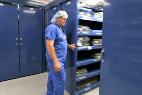 Spacesaver Healthcare Mobile Shelving