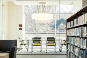 Spacesaver Library Shelving and Meeting Space
