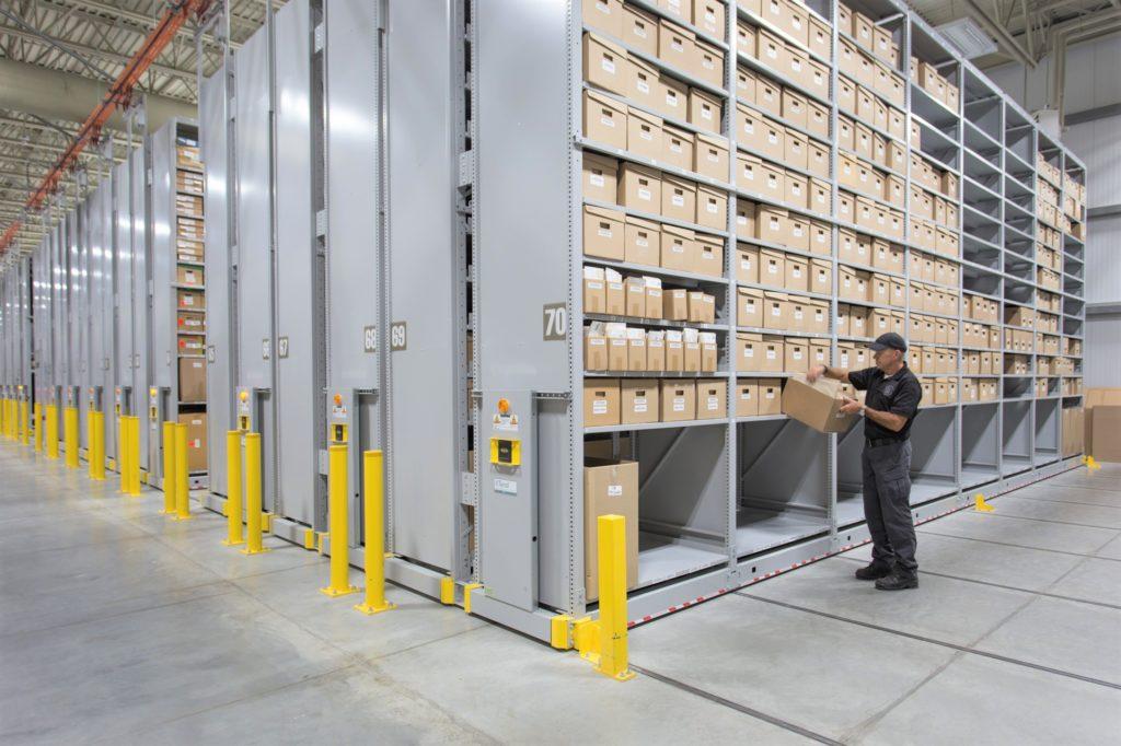 Spacesaver High Density Mobile Storage