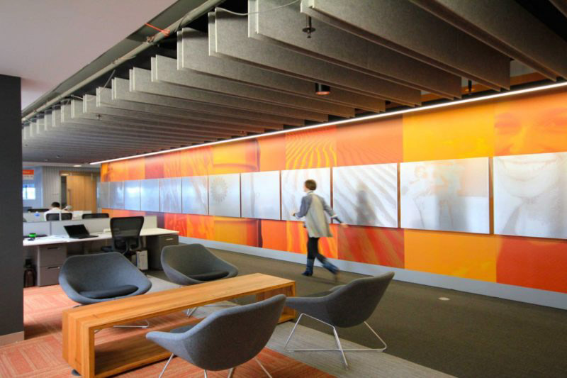 Kirei acoustic ceiling panels