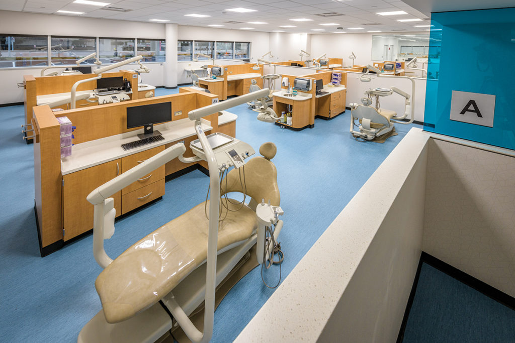 Hamilton Casework in education facility
