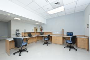 Laminate Hamilton Casework medical workstations