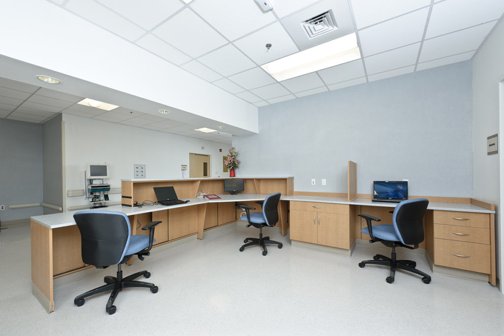Hamilton Casework in office environment