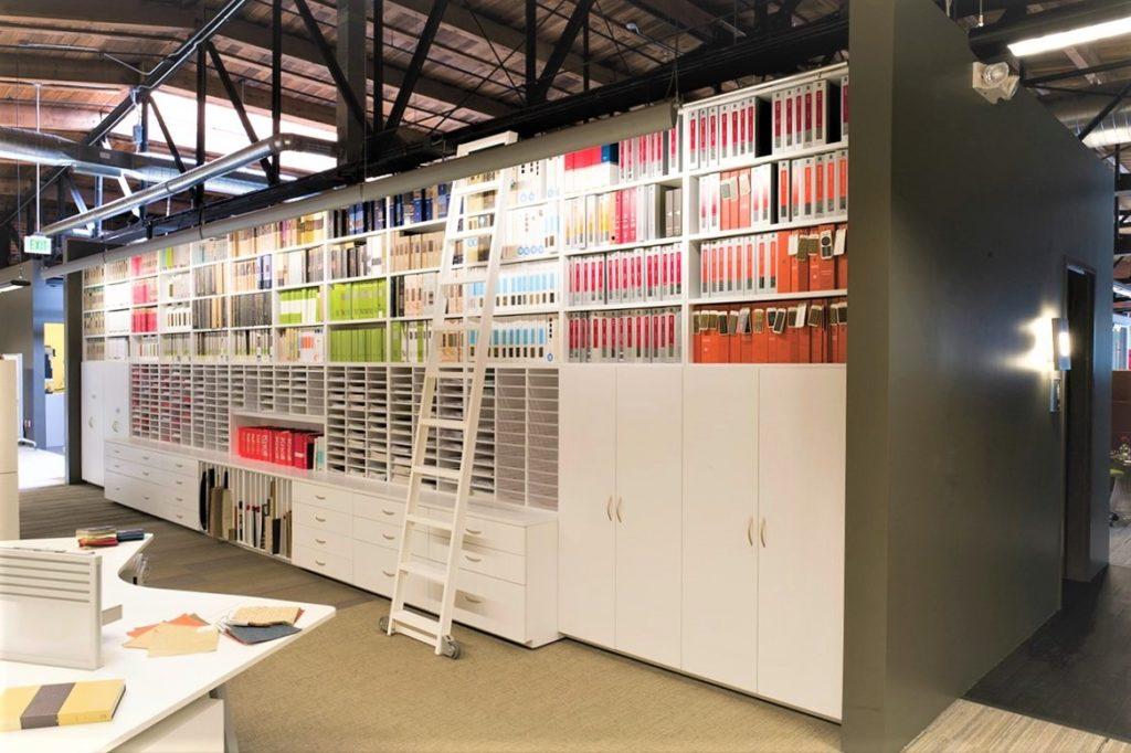 Laminate Hamilton Casework storage in office spaces