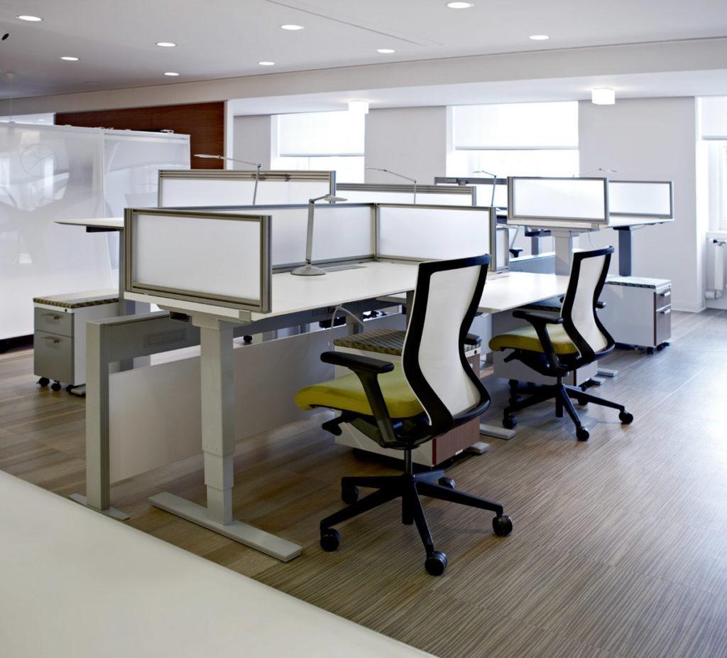 KI Furniture height adjustable desks