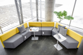 Rouillard Lounge Seating and Geo Tables