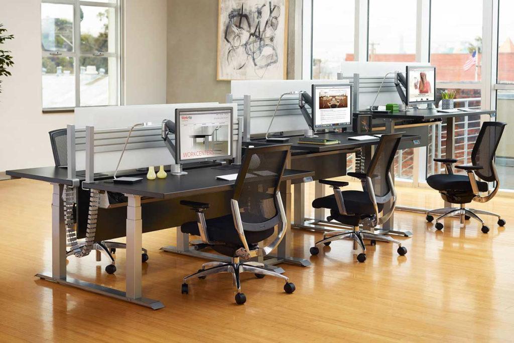 Workrite Ergonomics height adjustable desks