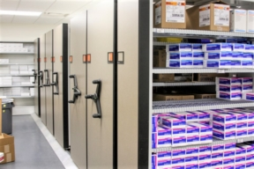 Spacesaver High-Density Mobile Shelving