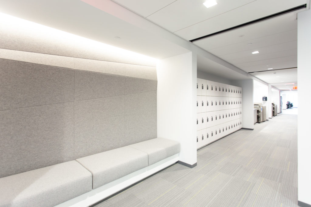 Day Use Lockers in Architecture Firm