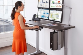 Workrite Ergonomics multi monitor