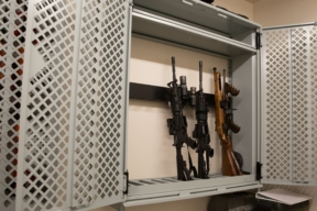 Spacesaver weapons rack