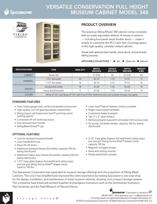348 Conservation Full Height Double Door