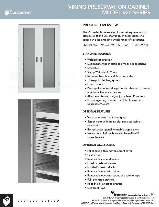 920 Viking Preservation Cabinet