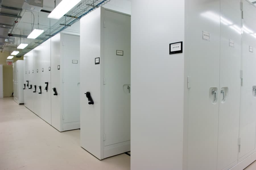 Spacesaver High-Density Mobile Cabinets