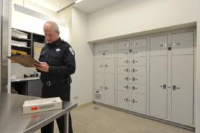 Evidence lockers - Public safety storage