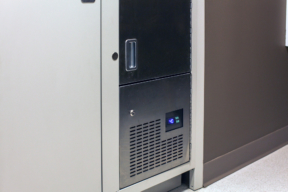 Refrigerated evidence locker in Salisbury Police Department