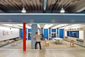 GE Software Design Center Modular Walls