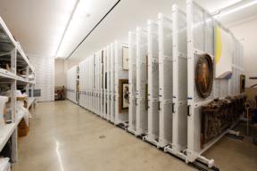 Lateral Art Racks for Framed Art