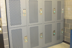 Tactical Readiness Lockers at Police Department