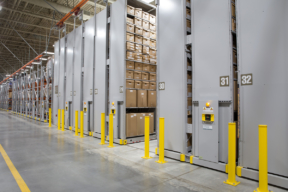 Xtend Mobile High-Bay Shelving System for Evidence Storage