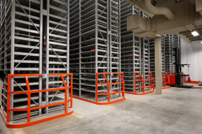 Static High-Bay Shelving Solutions