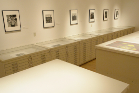 Museum of Contemporary Art Flat File Storage