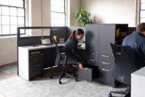 Accessible file storage in the agile workplace