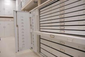 Museum Flat File Storage
